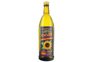 Масло подсолнечное домашнее украинское к салату Соняшки с/бут 0.5л