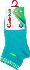 CONTE-KIDS ACTIVE Шкарпетки дитячі р.14 133 бірюза