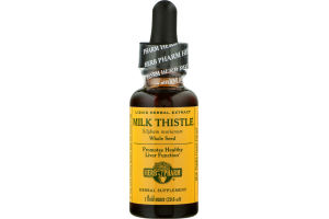 Herb Pharm Milk Thistle Liquid Herbal Extract