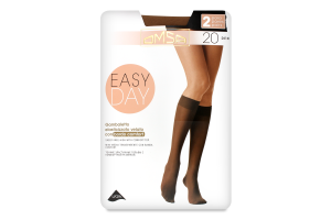 Гольфы женские Omsa Easy day 20 caramello S/M ^