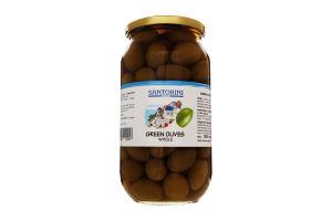 Оливки с косточкой Santorini Dreams с/б 1000мл