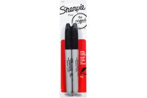 Sharpie The Original Fine Permanent Marker - 2 CT