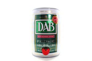 Пиво Dab з/б 5л х2