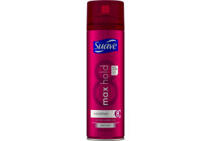 Suave Max Hold Hairspray Unscented