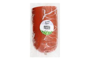Колбаса вареная с молоком Ковбасна Столиця 1/с кг