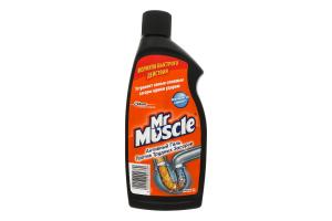 Гель чистящий активный п/трудных засоров Мистер Мускул 500мл