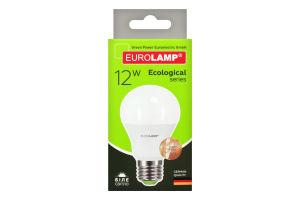 Лампа светодиодная LED 12W E27 4000K Eurolamp 1шт