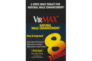 VirMax Natural Male Enhancement Capsules - 30 CT