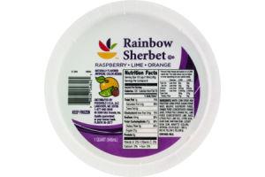 Ahold Rainbow Sherbet