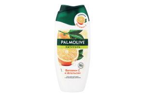 Гель-крем для душу зі зволожуючим молочком Вітамін С і Апельсин Натурель Palmolive 250мл