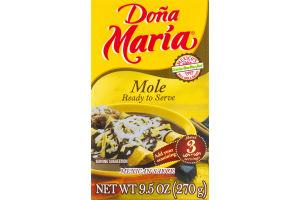 Dona Maria Mole Mexican Sauce
