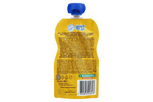 Пюре для дітей від 6міс Яблуко-банан Чудо-чадо д/п 90г