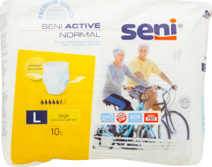 Підгузки для дорослих SENI ACTIVE Normal large №10 шт.