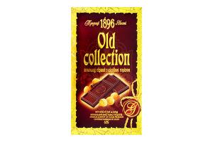 Шоколад гіркий з лісовим горіхом Old collection Бісквіт Шоколад к/у 200г
