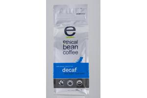 Ethical Bean Coffee Whole Bean Arabica Coffee Water Process Decaf Dark Roast