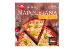Пицца Три сыра Napoletana Mantinga к/у 305г