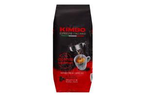 Кава натуральна смажена в зернах Espresso Napoletano Espresso Italiano Kimbo м/у 500г