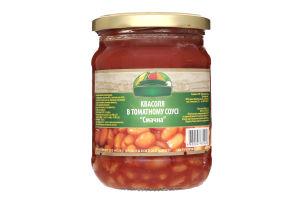 Фасоль в томатном соусе Смачна Консерваторія с/б 480г
