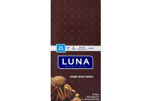 Luna Whole Nutrition Bar Caramel Walnut Brownie - 15 CT