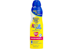 Banana Boat Kids Free Continuous Spray Sunscreen Broad Spectrum SPF 50