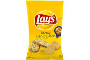Lay's Cheesy Garlic Bread Potato Chips
