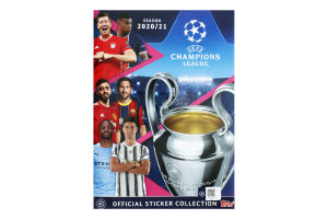 Альбом Champions League season 2020/21 Topps 1шт