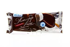 Мороженое Пломбир натуральный в глазури эскимо Лімо 80г