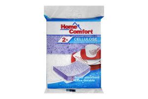 Губки кухонные Home Comfort Cellulose
