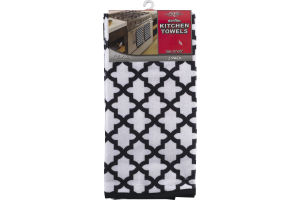 Royal Crest Microfiber Kitchen Towels - 2 PK