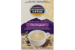Oregon Chai Chai Tea Latte The Original Powdred Mix Packets - 8 CT