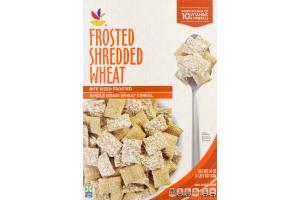 Ahold Whole Grain Wheat Cereal Frosted Shredded Wheat