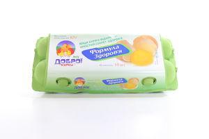 Яйца куриные отборные Від Доброї Курки 10шт