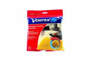 Серветка Vortex з чистячим протектором універсал. 2шт х26
