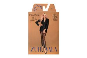 Легінси Intuicia Zuhvala 40den 2-S чорні