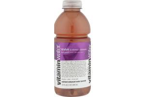 vitaminwater Revive Fruit Punch Nutrient Enhanced Water Beverage