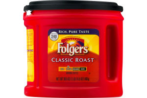 Folgers Classic Roast Ground Coffee Medium