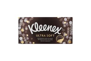 Серветки тришарові Ultra Soft Kleenex 72шт