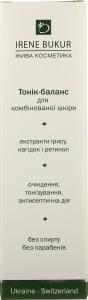 Тоник-баланс для комбинированной кожи Irene Bukur 180мл