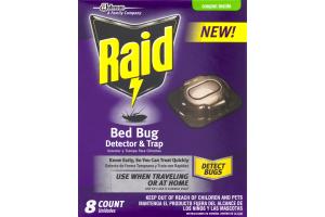 Raid Bed Bug Detector & Trap - 8 CT