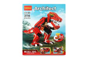 Конструктор для детей от 8лет №3116 Architect 3в1 Decool 1шт