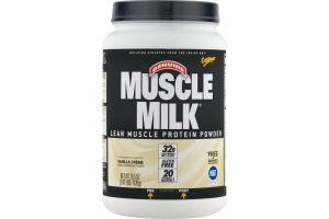Genuine Muscle Milk Lean Muscle Protein Powder Vanilla Creme