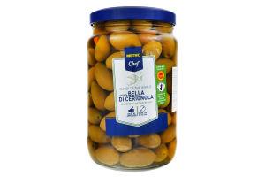 Оливки зелені в розсолі Bella di Cerignola Metro Chef с/б 1.6кг