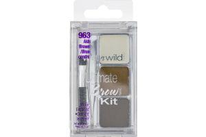 Wet n Wild Ultimate Brow Kit 963 Ash Brown