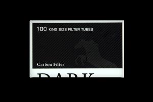 Гільзи для самокруток Dark Horse Carbon Fifter 100шт