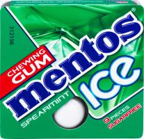 Гумка жувальна Spearmint Ice Mentos к/у 12.9г