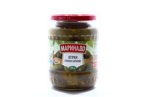 Огірки Маринадо солоні бочкові без оцту 680г