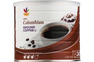 Ahold 100% Colombian Ground Coffee Medium-Dark Roast