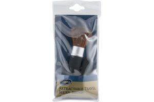 CareOne Retractable Travel Blush Brush