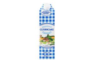 Молоко 2.5% ультрапастеризоване Особливе Селянське т/п 950г