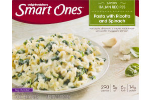 Weight Watchers Smart Ones Pasta With Ricotta And Spinach
